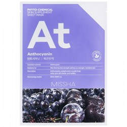 Купить Missha Phytochemical Skin Supplement Sheet Mask Anthocyanin/Lifting Киев, Украина